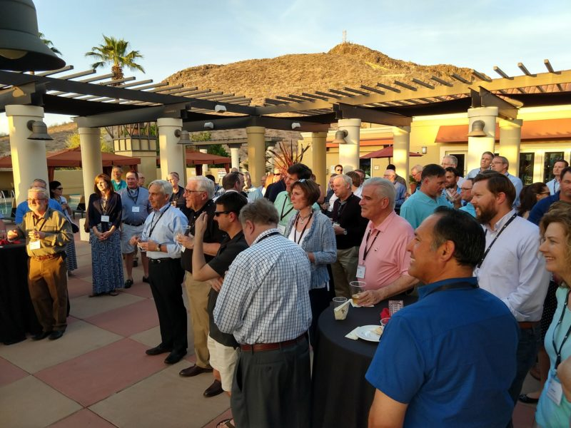 2018 NFRA Executive Conference Outdoor Reception with Attendees