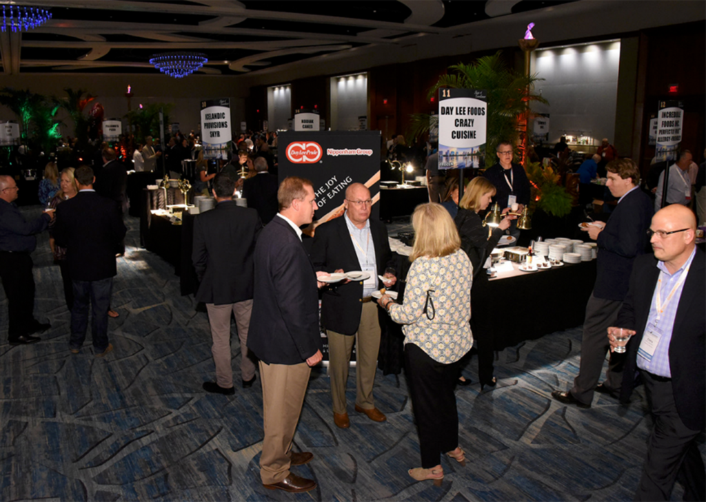 NFRA members mingle during the Taste of Excellence