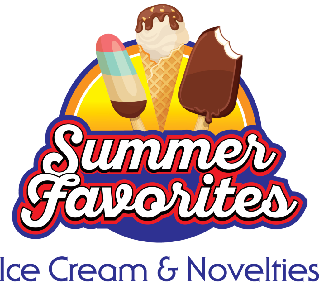Summer Favorites Ice Cream and Novelties Logo