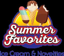 Summer Favorites Ice Cream and Novelties Logo