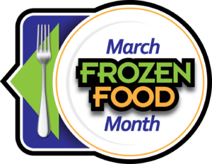 March Frozen Food Month Logo