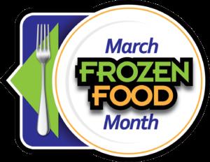 March Frozen Food Month Logo