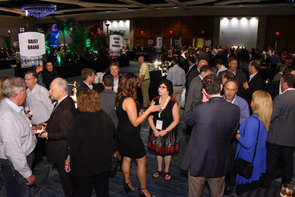 Convention Attendees enjoying Taste of Excellence Photo