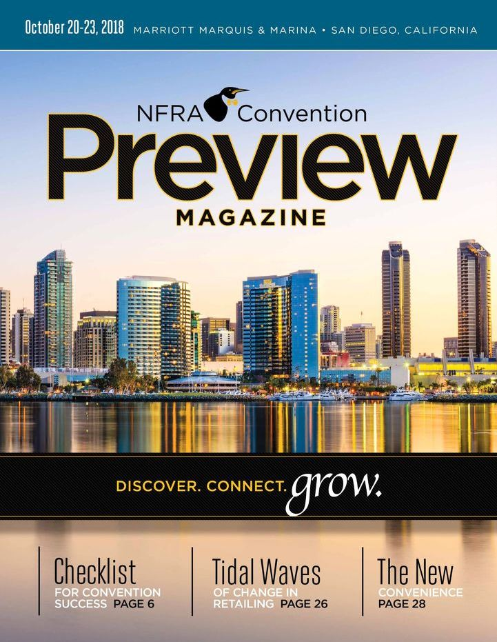 2018 NFRA Convention Preview Magazine cover
