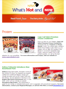 New Products Newsletter image