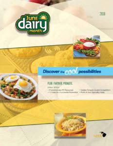 2018 June Dairy Month idea book