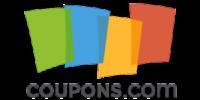 Logo for Coupons.com website