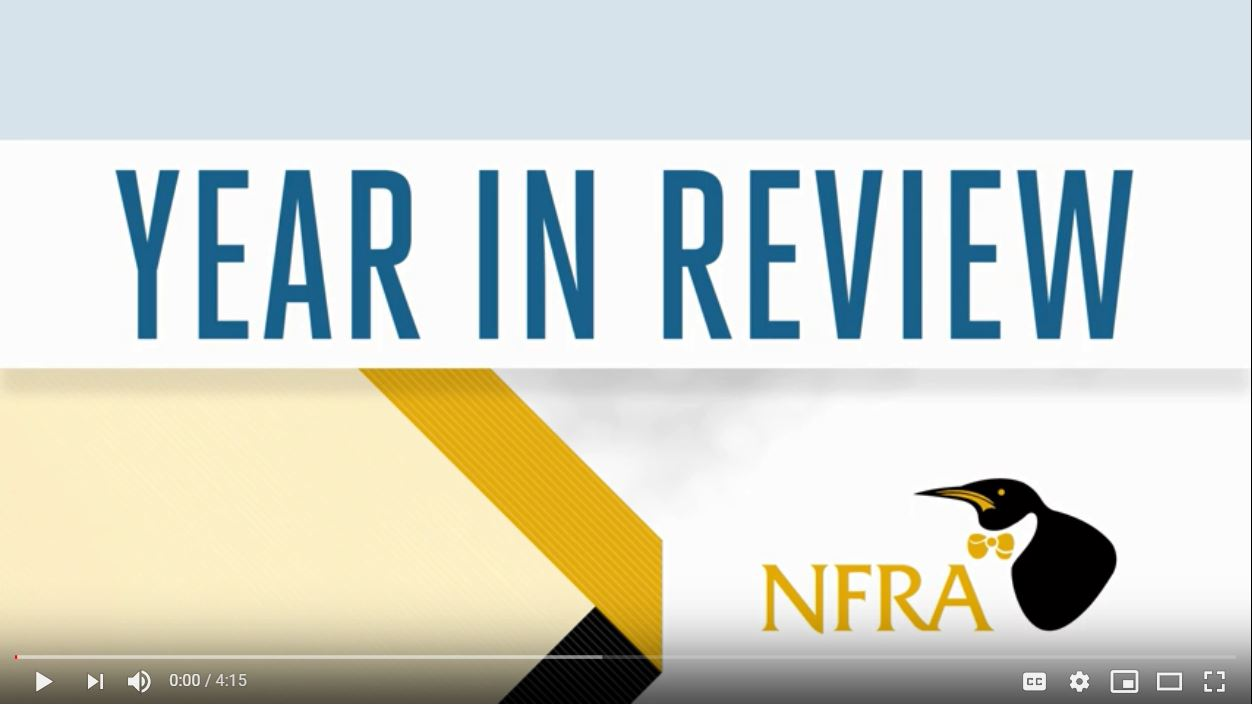 NFRA Year in Review Video Thumbnail Image