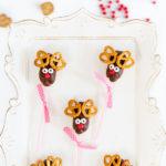 Photo of Cool Food Panelist Dawn's Mini Eclair Reindeer Pops dessert