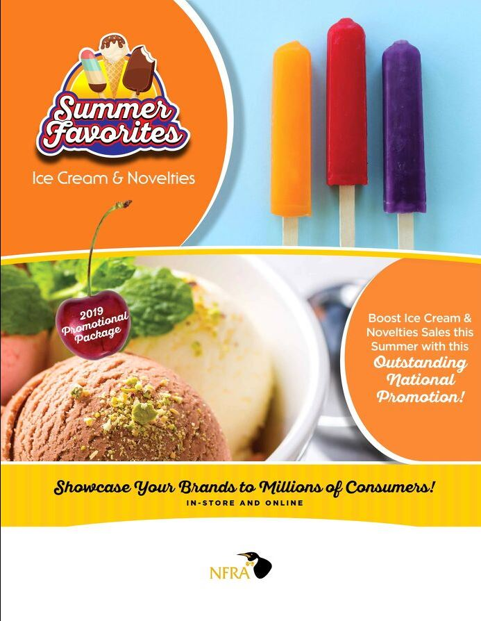 2019 Summer Favorites Promotion brochure cover
