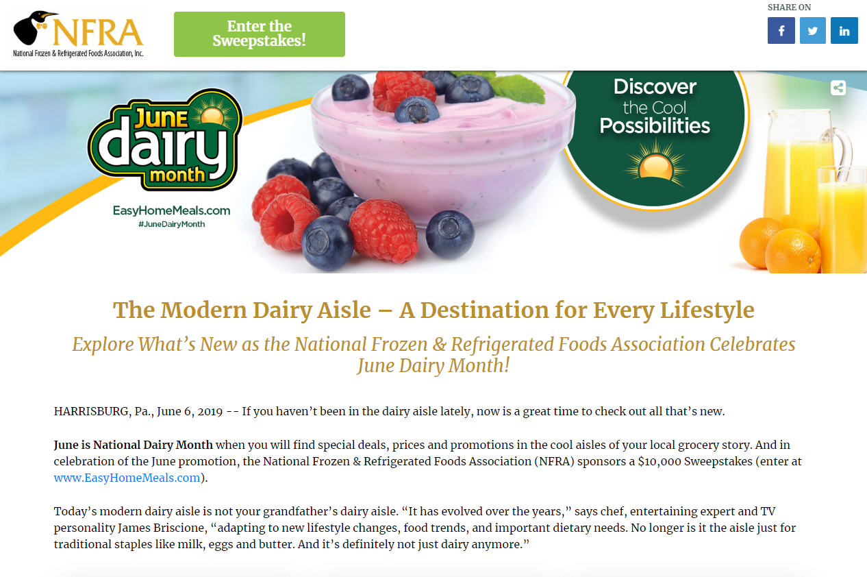 The Modern Dairy Aisle – A Destination for Every Lifestyle