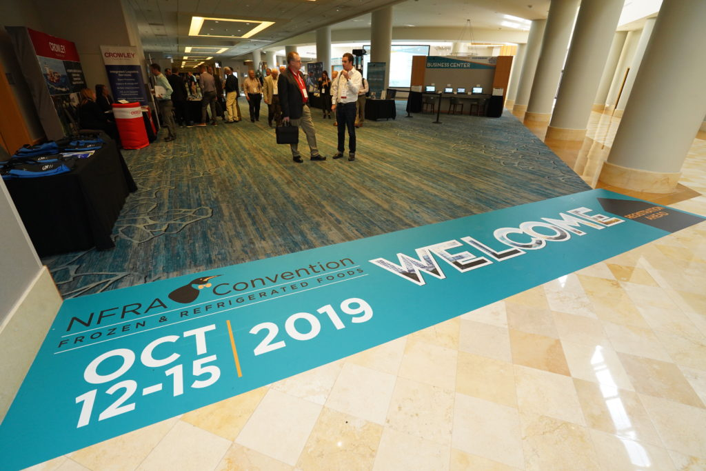 2019 NFRA Convention Welcome Sign