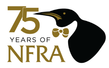 NFRA 75th Anniversary logo